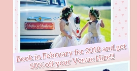 Oppie Plaas Venue - Month of Love Special