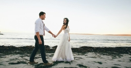 Looks We Love: Kylé & Mark's Intimate Wedding!