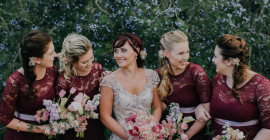 The Best Dressed Bridesmaids!