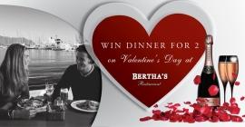 Bertha's Restaurant Valentines Competition