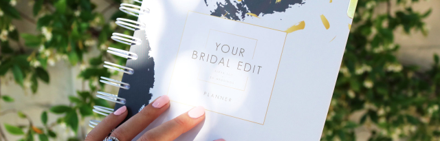 Your Bridal Edit: The Ultimate Planner For Brides-To-Be