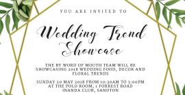 Wedding Trend Showcase 2018