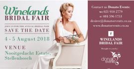 Winelands Bridal Fair 2018