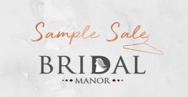 Bridal Manor Sample Sale