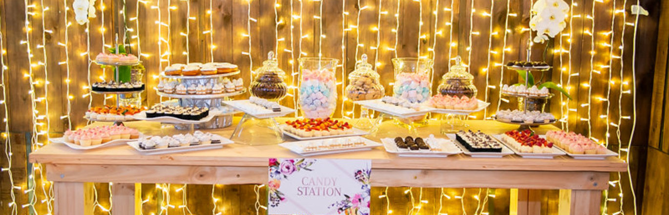 Bride of the Year: Dessert Station