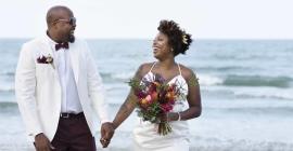 A Blushing Friday Bride at Umthunzi Hotel