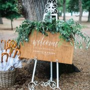 wedding stationery, greenery