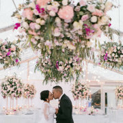 floral decor, kiss, kiss