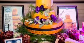 Wedding Cheese Cakes by Klein River Cheese