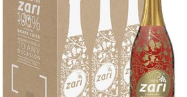 Win 6 mixed cases of Zari Sparkling Grape Juice for your wedding