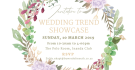 Wedding Trend Showcase 2019