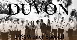DuVon Wine and Wedding Estate Winter Special