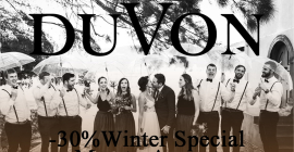 DuVon Wine and Wedding Estate Winter Special