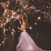 bride and groom, bride and groom, bride and groom, kiss, kiss, kiss - Hudson\