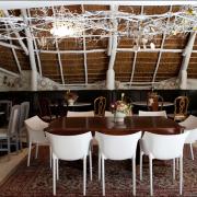 chairs, decor, winter wedding - Towerbosch Earth Kitchen