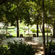 chairs, outdoor ceremony