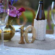 table decor, table number