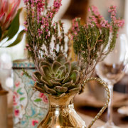 succulents, table decor