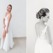 hair, makeup, wedding dress - Peach Cronje Make-Up Artistry