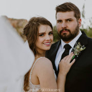 bride and groom, bride and groom - Peach Cronje Make-Up Artistry