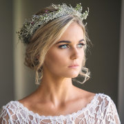 flower crown, hair, makeup - Peach Cronje Make-Up Artistry