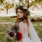 flower crown, hair and makeup, hair and makeup, hair and makeup, hair and makeup, hair and makeup - Peach Cronje Make-Up Artistry