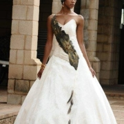 african, bride, wedding dress - Shifting Sands