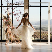 floral arches, wedding dresses, wedding dresses - Bakenhof Winelands Venue