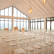 ceremony, chapels, naked bulbs - Bakenhof Winelands Venue