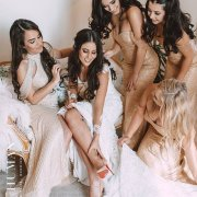 bride and bridesmaids - Sew Couture