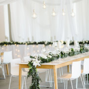 wedding decor, wedding furniture, floral runner - NConcepts and Designs