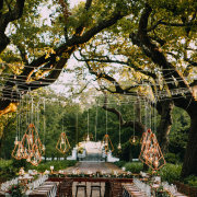 floral centrepieces, geometric hanging decor, hanging decor, decor questions - NConcepts and Designs