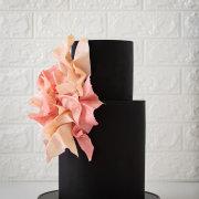 wedding cakes, 2 tier wedding cake - Samantha Liang Cake Artistry