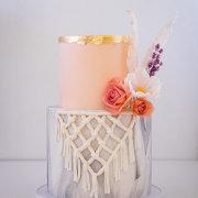 wedding cakes, 2 tier wedding cakes - Samantha Liang Cake Artistry