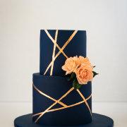 2 tier wedding cakes, wedding cakes - Samantha Liang Cake Artistry