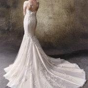 wedding dress, lace, mermaid - Weddings By Design