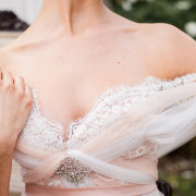 lace wedding dress, wedding dress - Katie Mayhew Photography