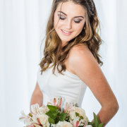 bouquet, hair, makeup - Katie Mayhew Photography