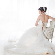 wedding dress - Katie Mayhew Photography