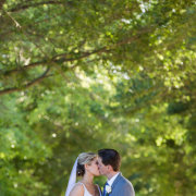 bride and groom, veil - Katie Mayhew Photography