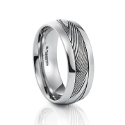 grooms accessories, grooms wedding rings, wedding bands - VA - Tungsten