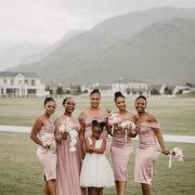 bridesmaids, bridesmaids, flowergirl - Meletlo Celebrations