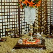 centrepiece, crystal, decor - Crystal Events