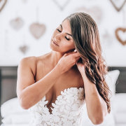 hair and makeup, hair and makeup, hair and makeup, hair and makeup, hair and makeup - De La Vida Bridal Couture