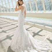 lace, lace, wedding dresses, wedding dresses - De La Vida Bridal Couture