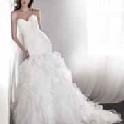 wedding dress, wedding dress, strapless