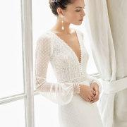 bridal hairstyles, earings, wedding dresses, wedding dresses - De La Vida Bridal Couture