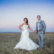 bride and groom, hairstyle, suit, wedding dress