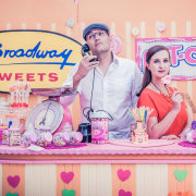 candy station, couple