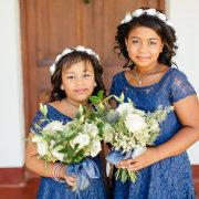flower girl - Royal Blu